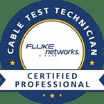 Certificat Cable Testing Technician FLUKE NETWORKS - Certified professional
